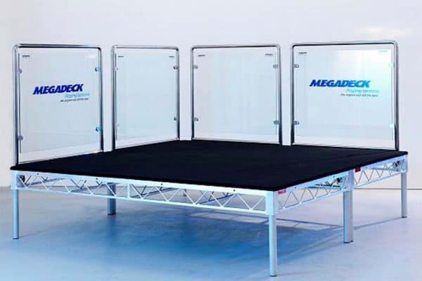 Megadeck Glass Stage