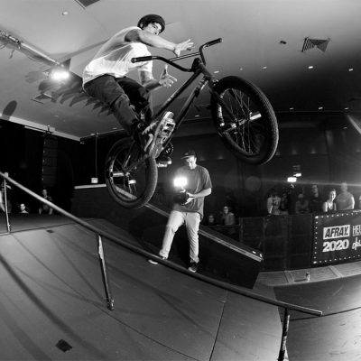 Outdoor Stage Bike Ramp