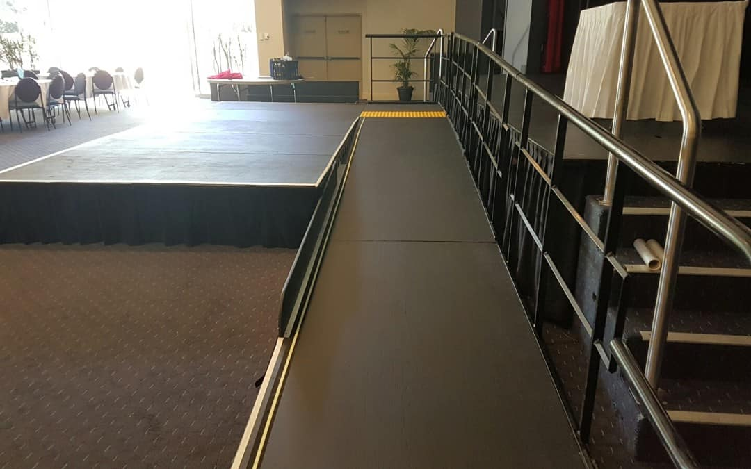 Disabled Access Ramps For Guest Speakers