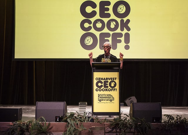 The Ozharvest CEO Cook Off & Megadeck Staging